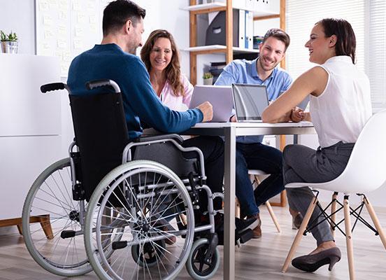 Soins aux personnes handicapées
